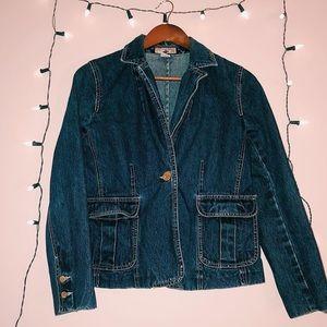 Denim Jacket - Dark Wash